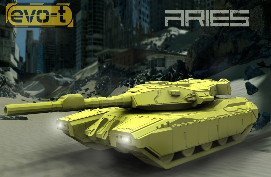 ARIES medium tank