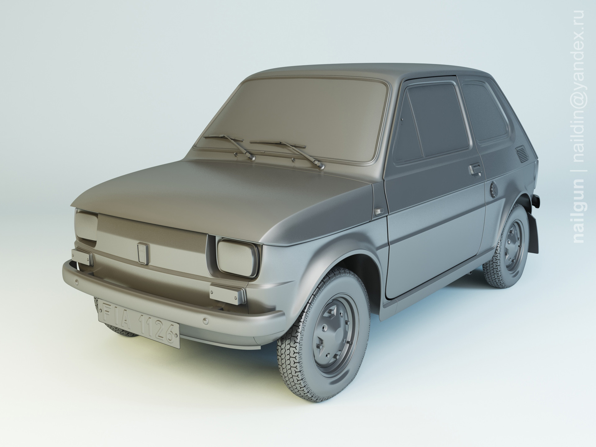 Nail khusnutdinov als 169 003 fiat 126p modelling 0