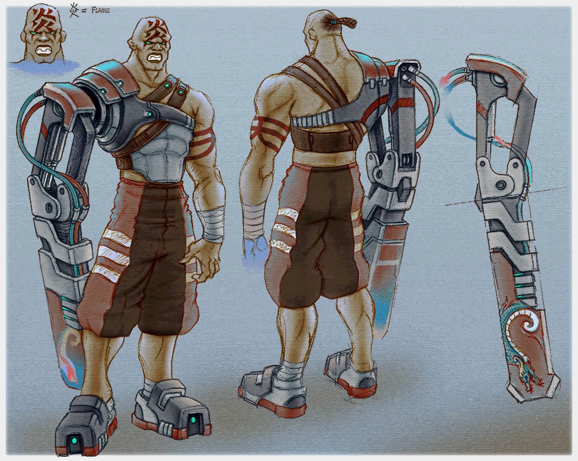 E lynx lin oni matt concept01