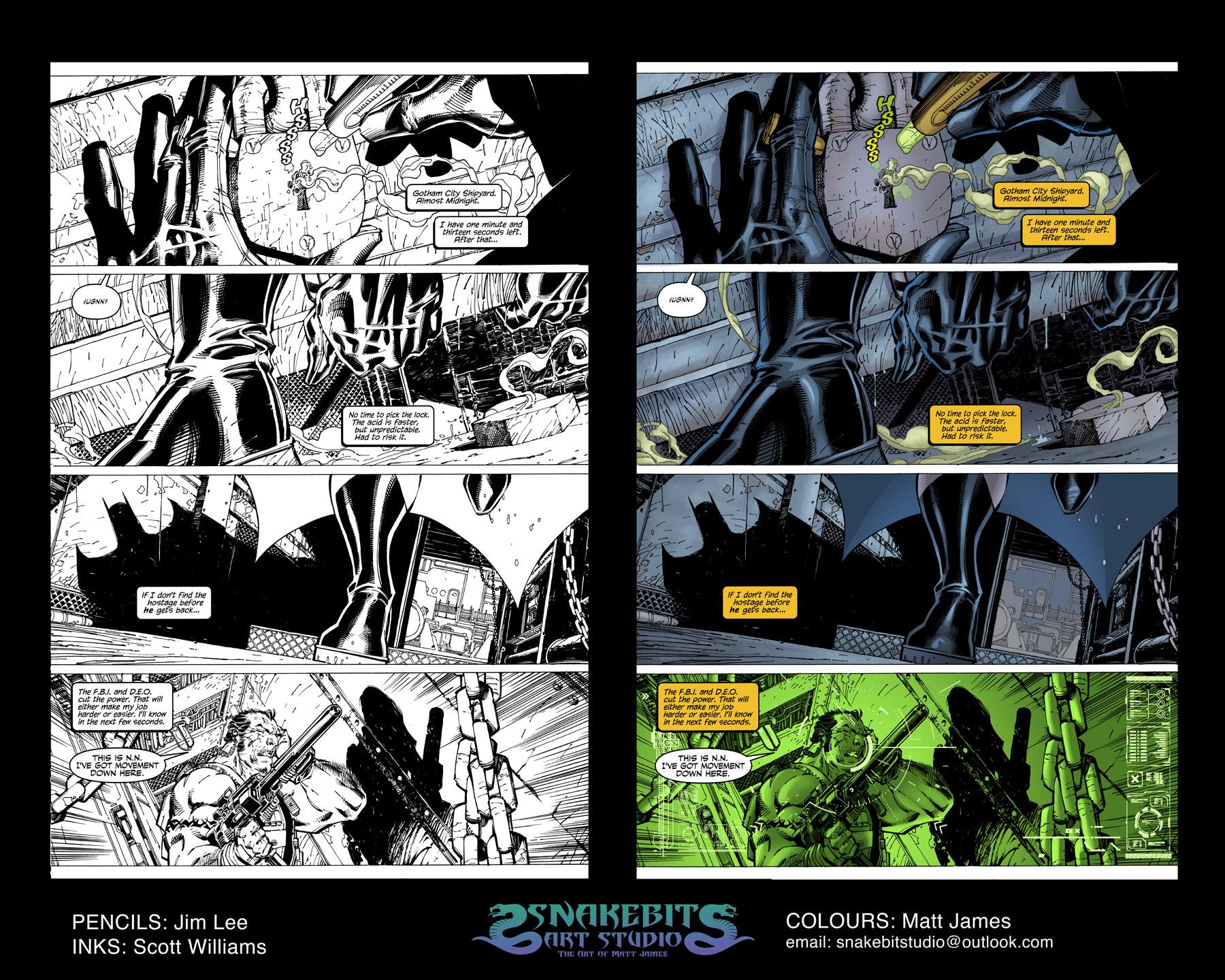 Batman Hush Sample Pages