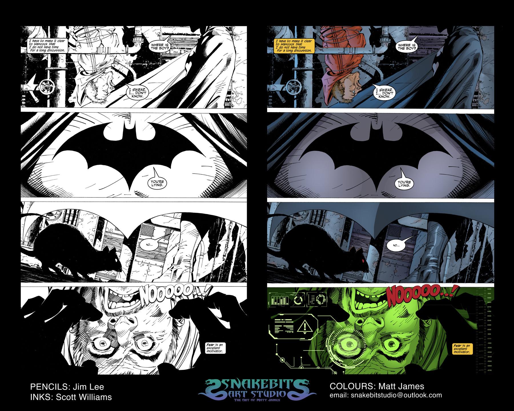 Matt james colour portfolio batman hush page 4