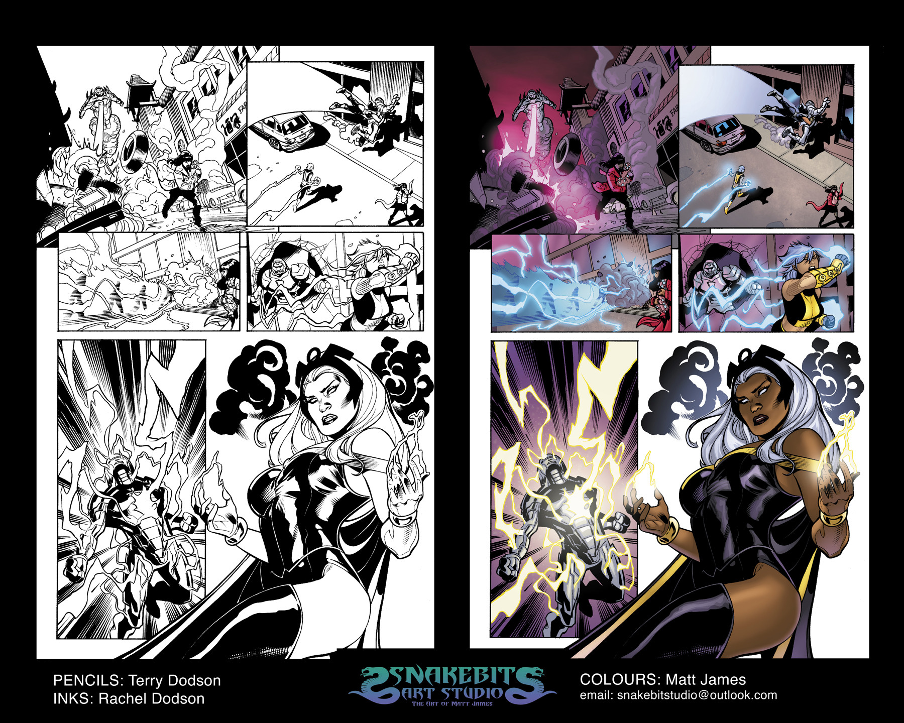 Uncanny X-Men Sample Pages
