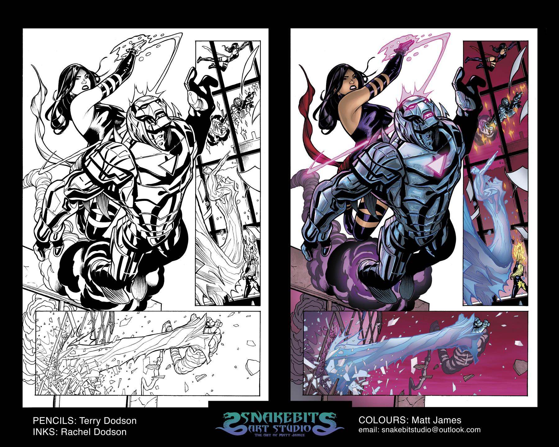 Matt james colour portfolio uncanny xmen 525 page 11 hr