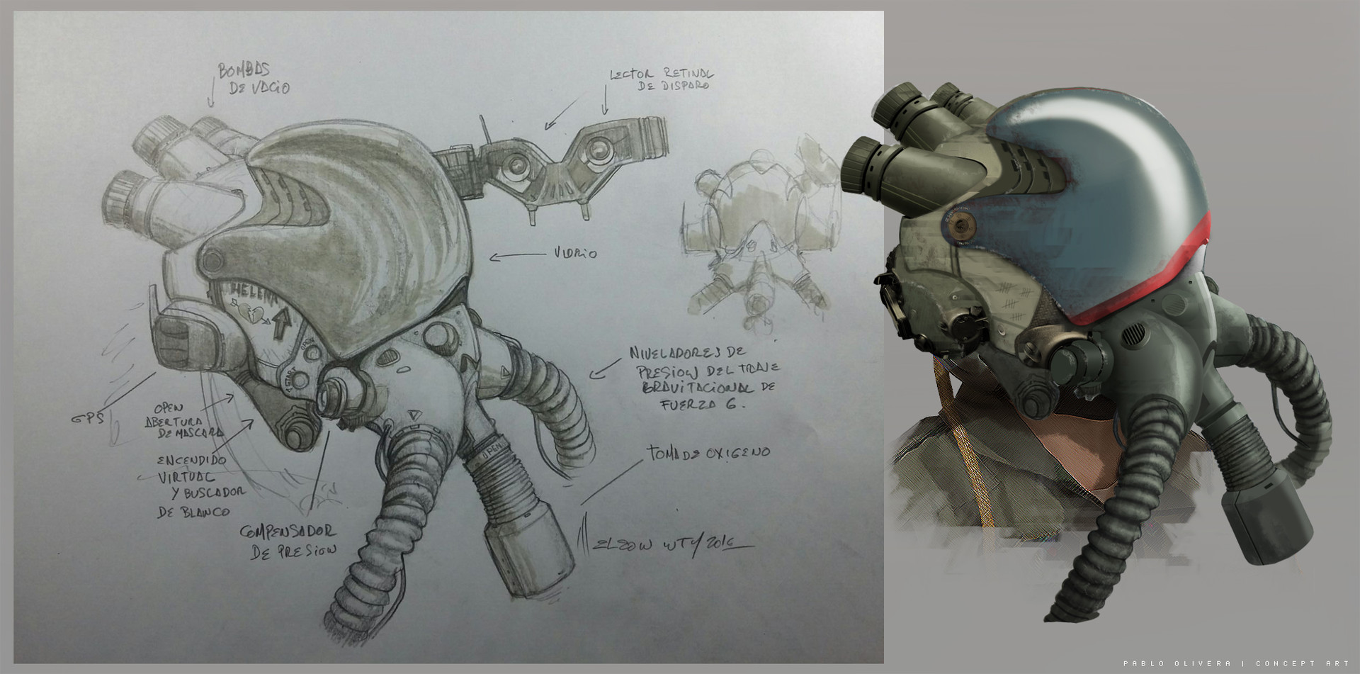 Pablo olivera sons of light helmet design v02