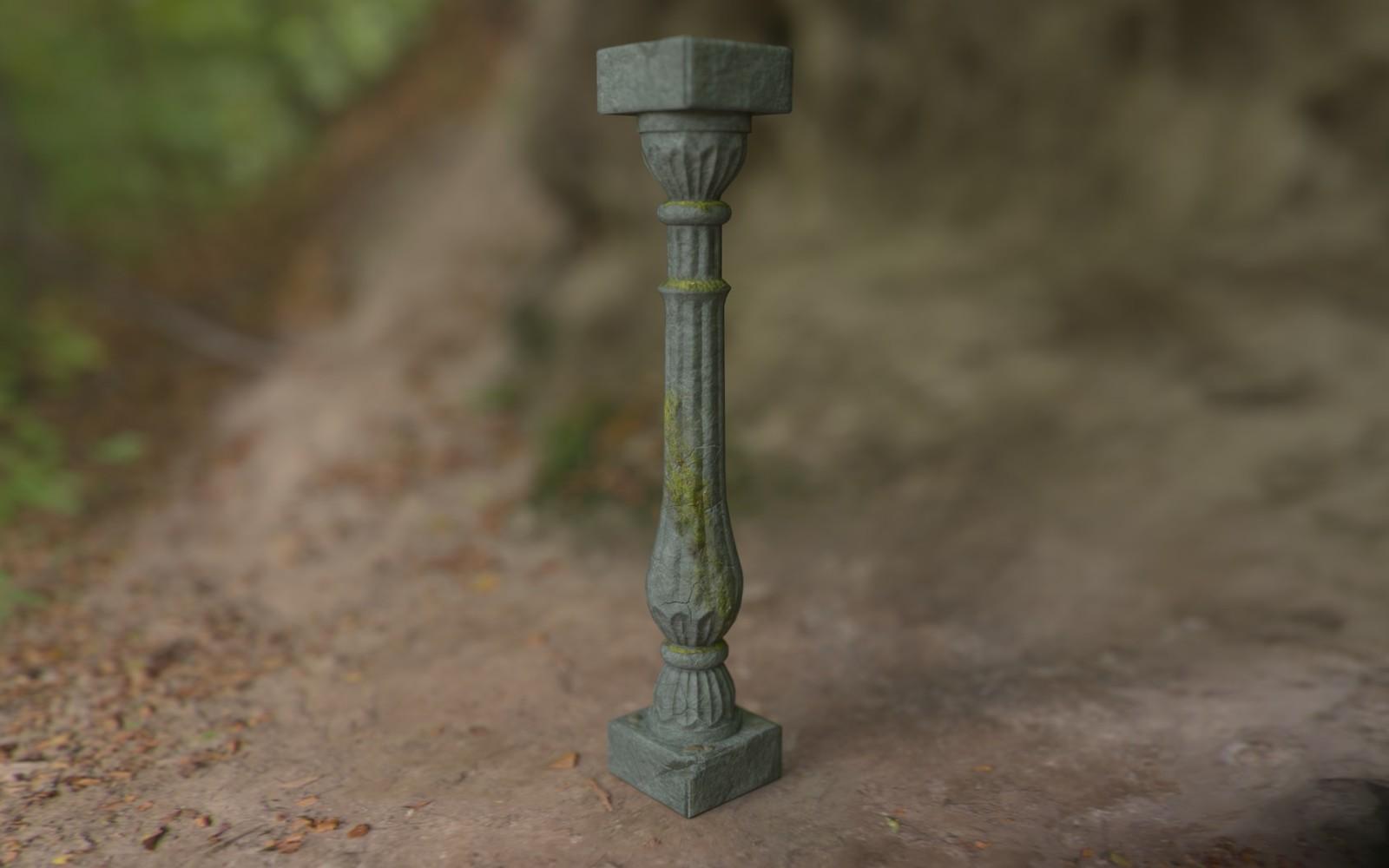 Mossy Pillar