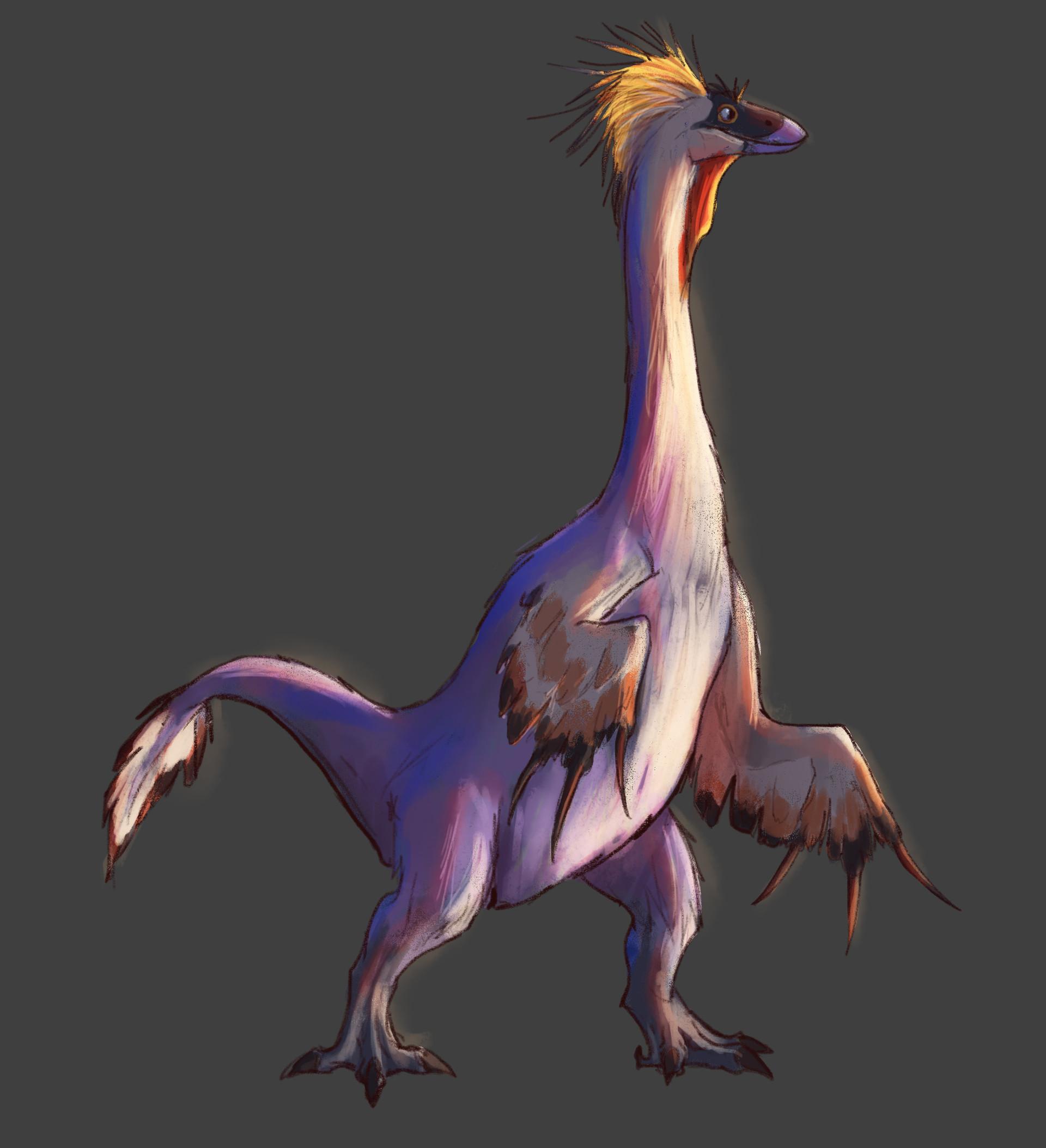 Pablo rivera therizinosaurus