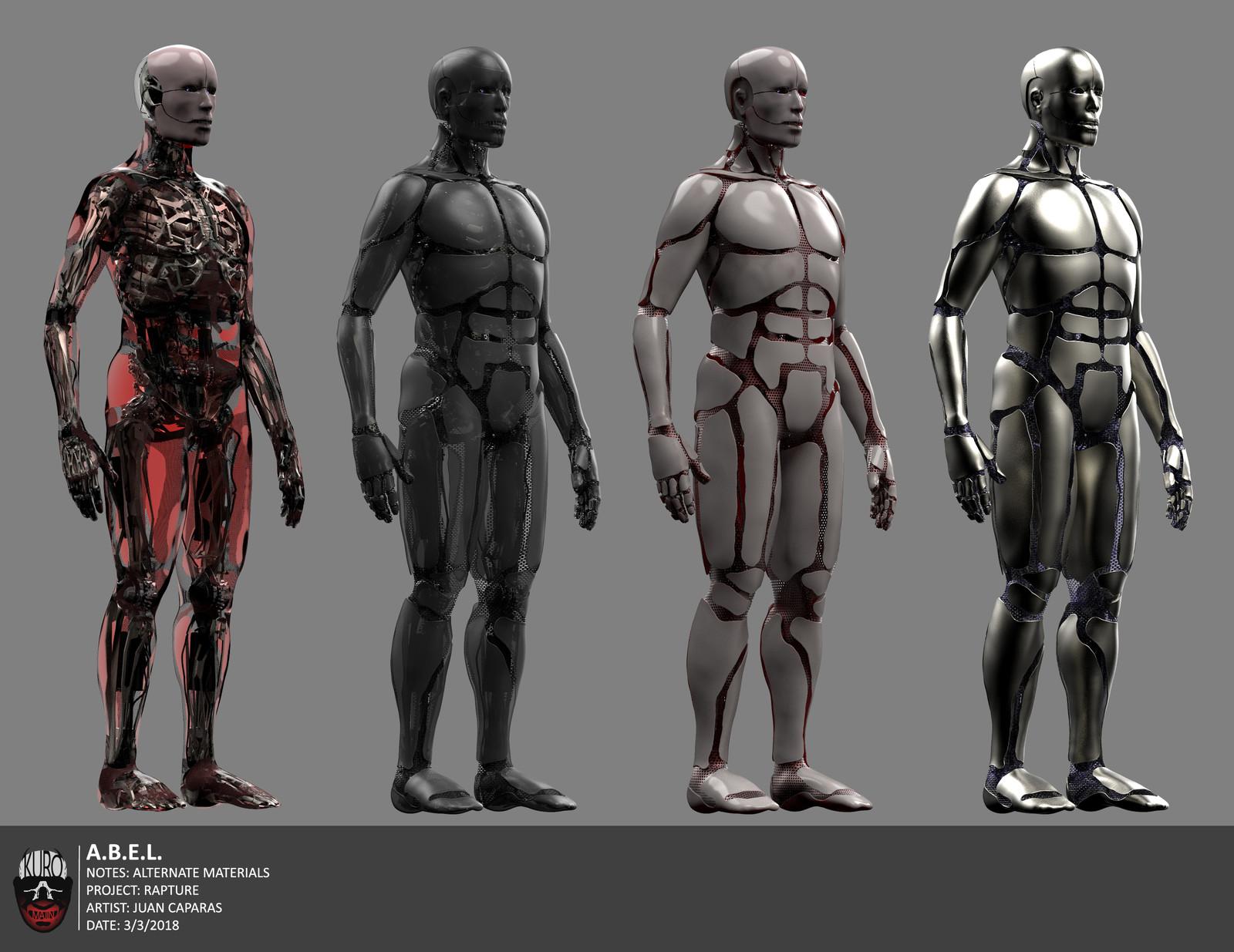 A.B.E.L. Concept Art 2 | Kuro Majin Productions