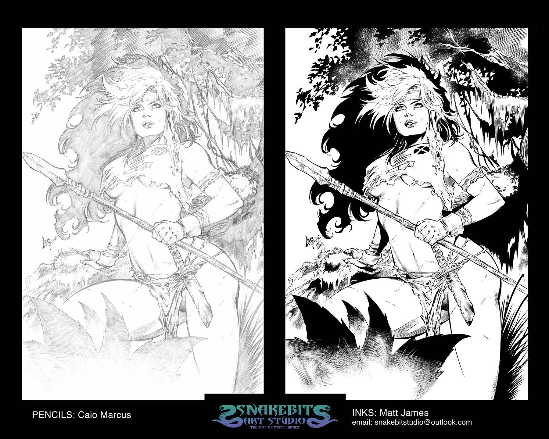 Matt james ink portfolio savage land rogue