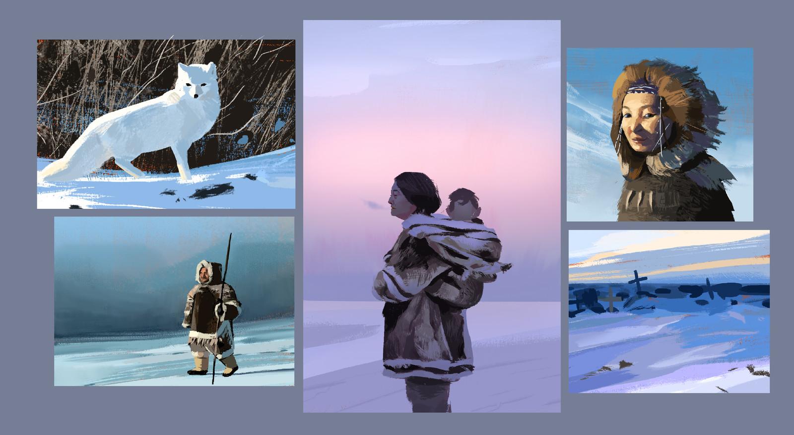 Arctic Sketches/Studies