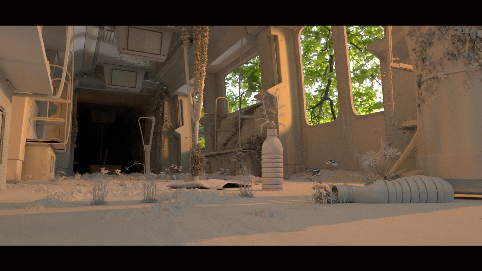 Clay render