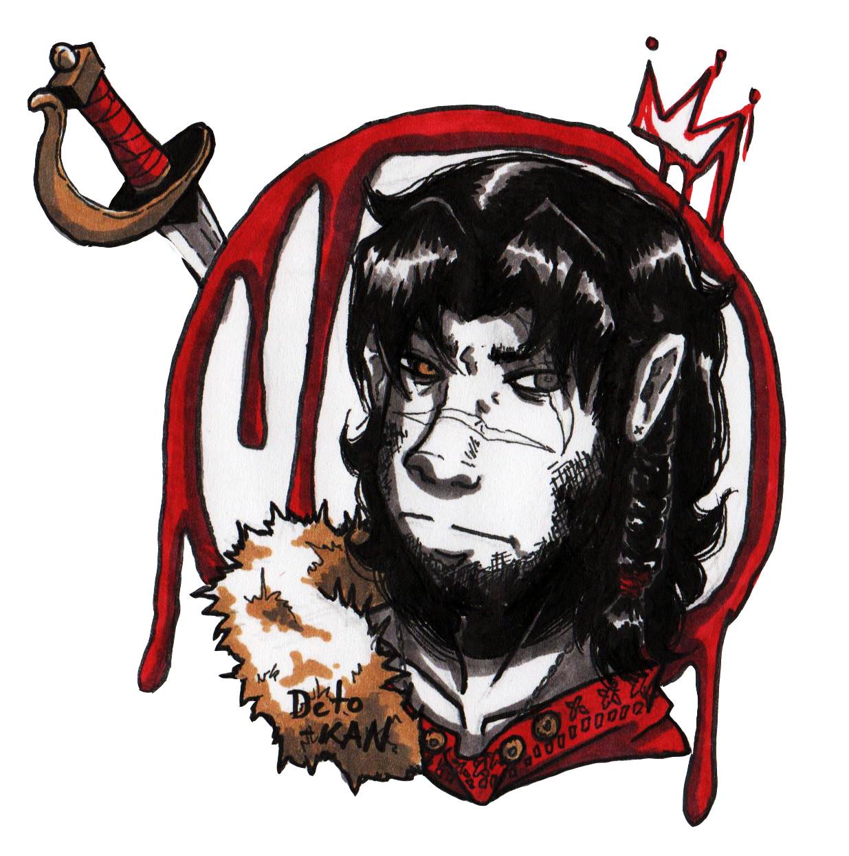 Detonya kan a mercenary turned king