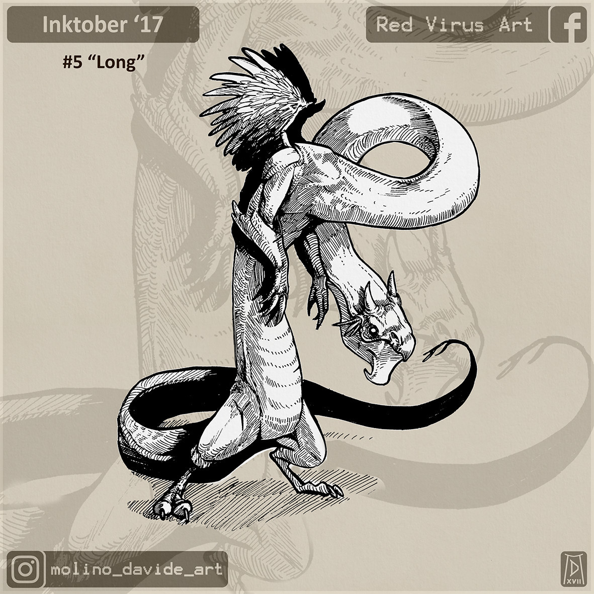 Seriously... Dragon and goblin are very usefull for an inktober challenge... easily adapted... and nice to draw!