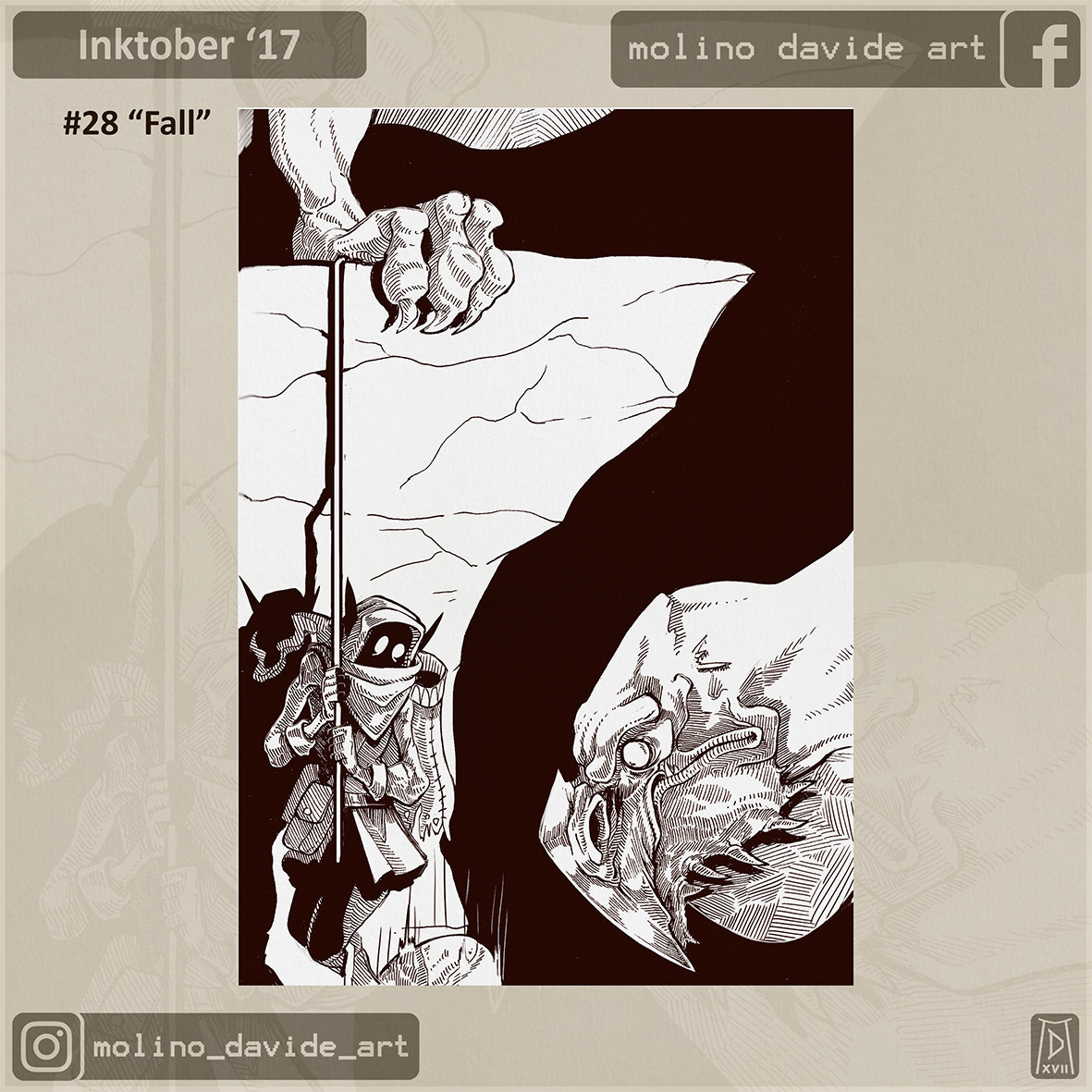 To understand it better, look out for the 27th inktober!