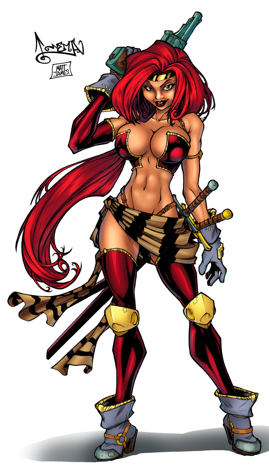 Red Monica