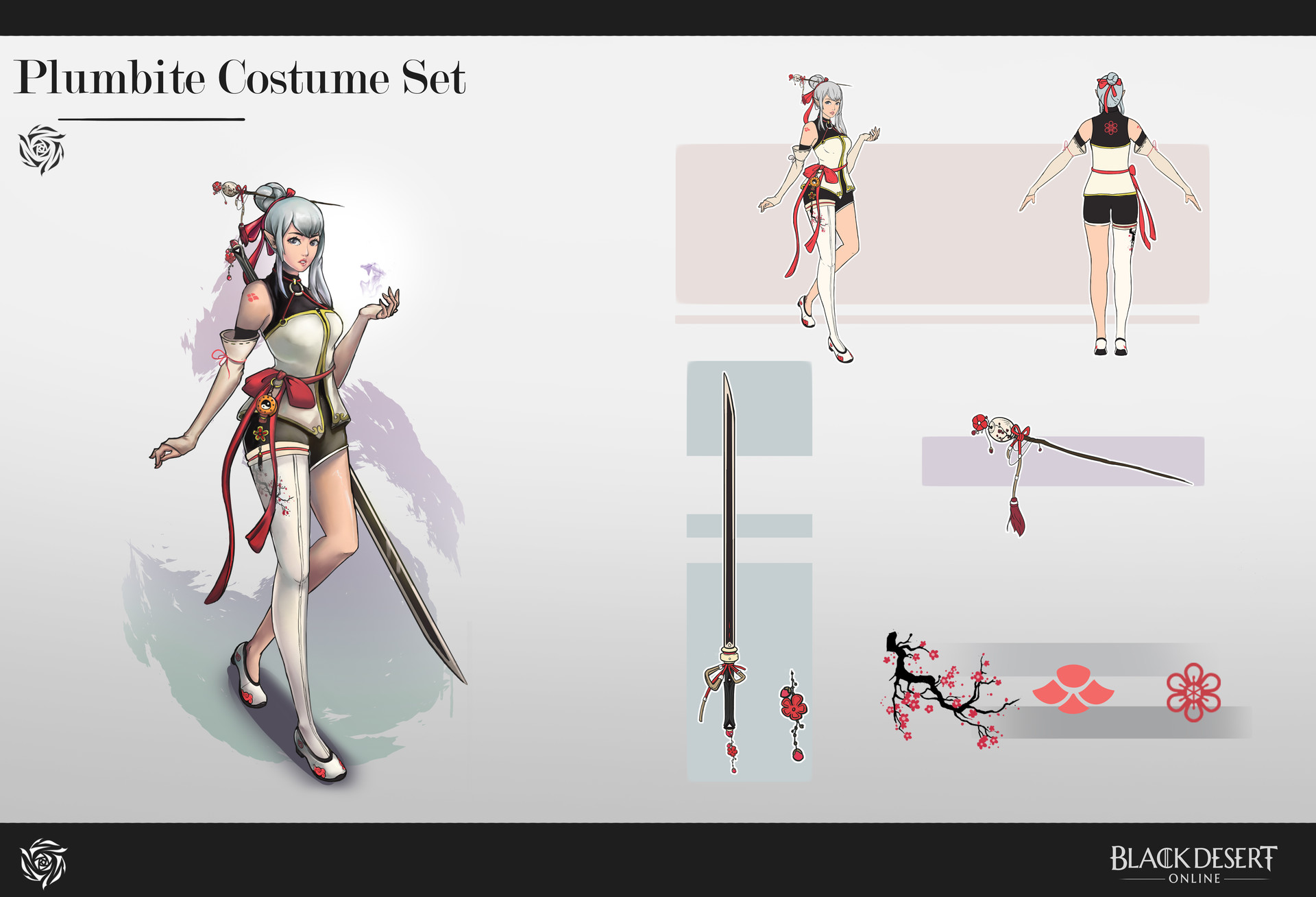 ArtStation - Black Desert Costume Design Contest , K Chen