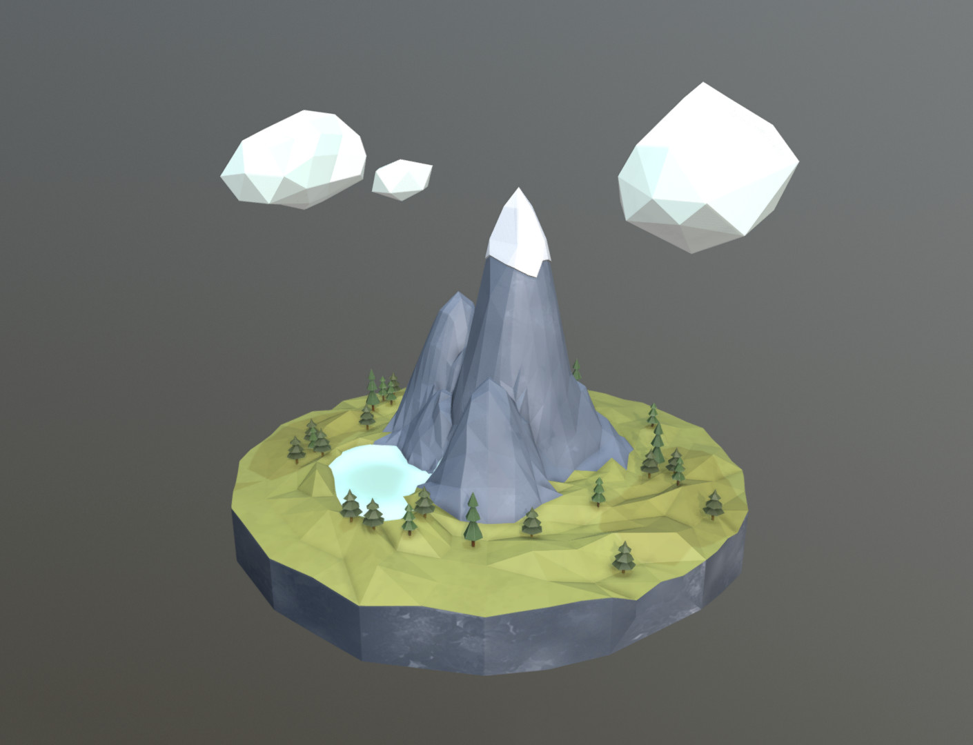 Screenshot of the model inside Sketchfab.