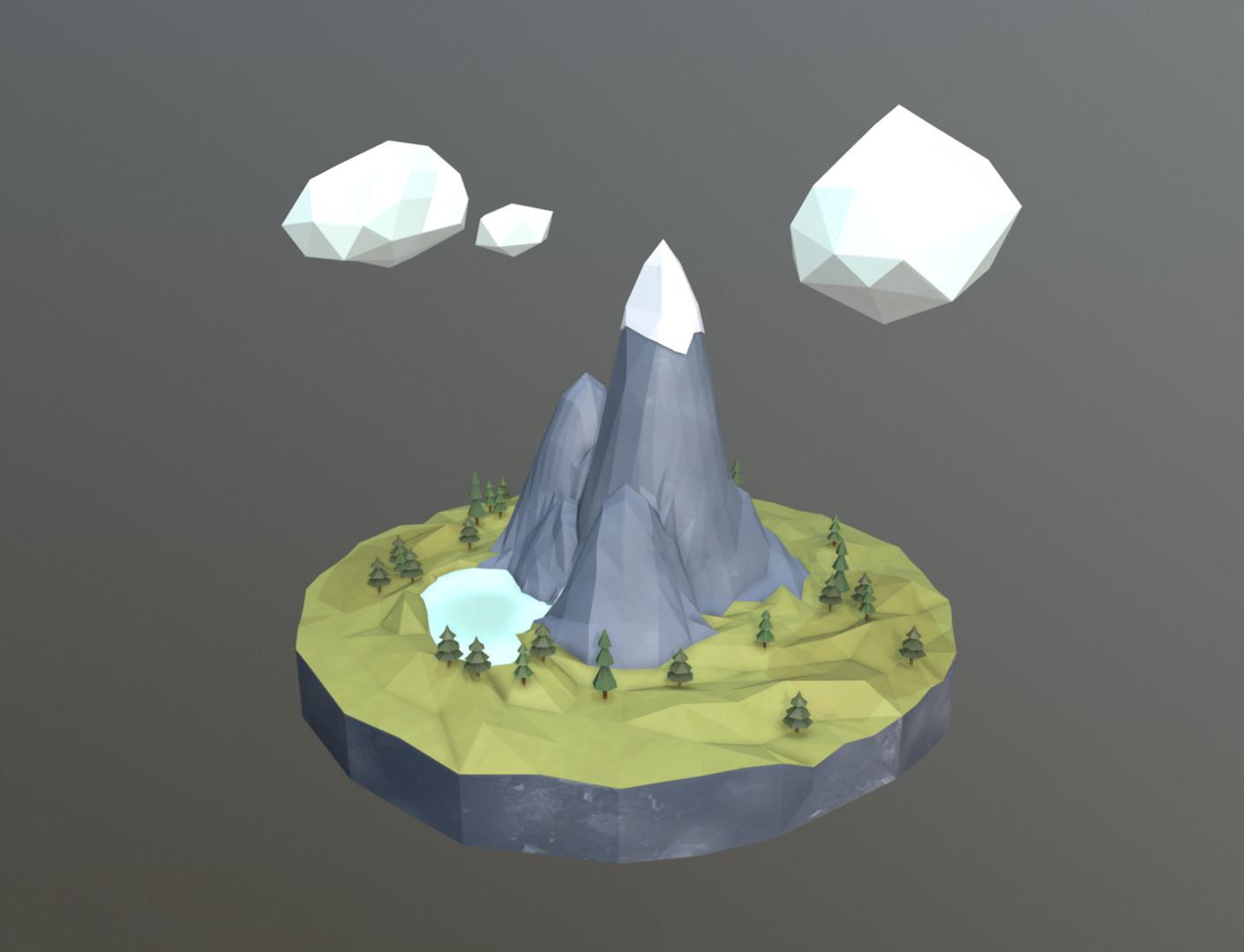 Screenshot of the model inside Sketchfab.