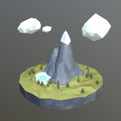 Daniel sandbuehler the island sketchfab screen