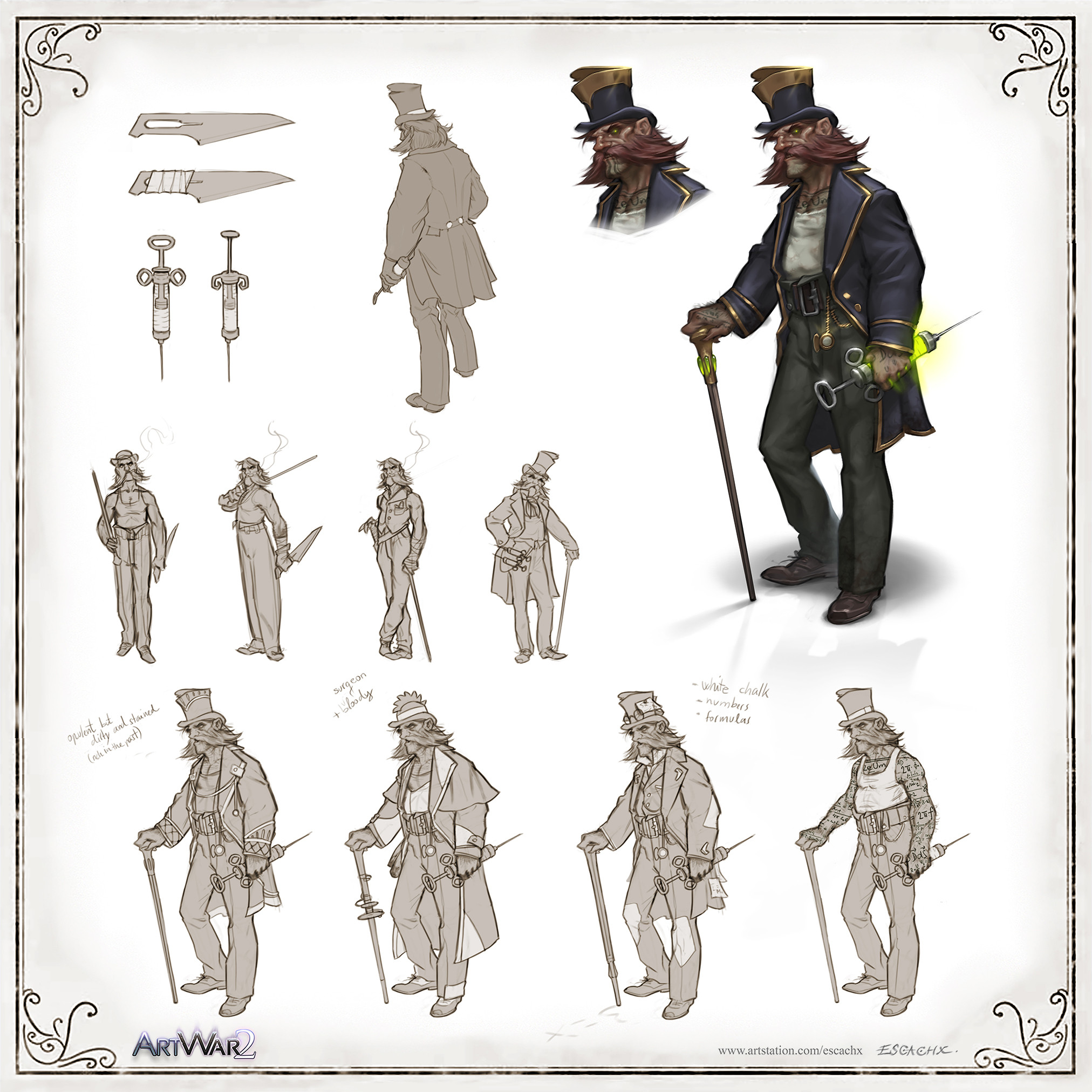 Concept Sheet - Dr.Jekyll