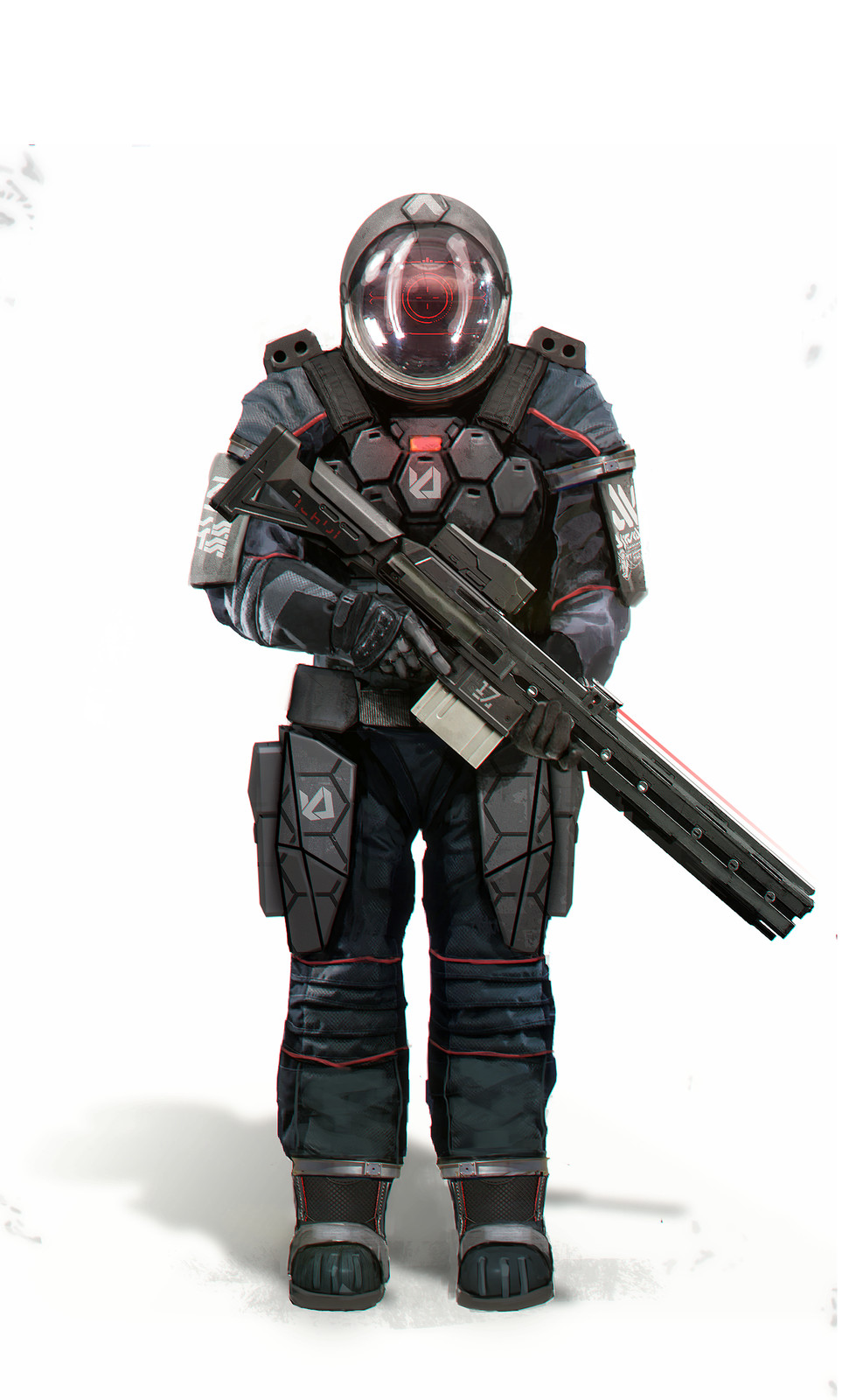 Space Soldier Concept
