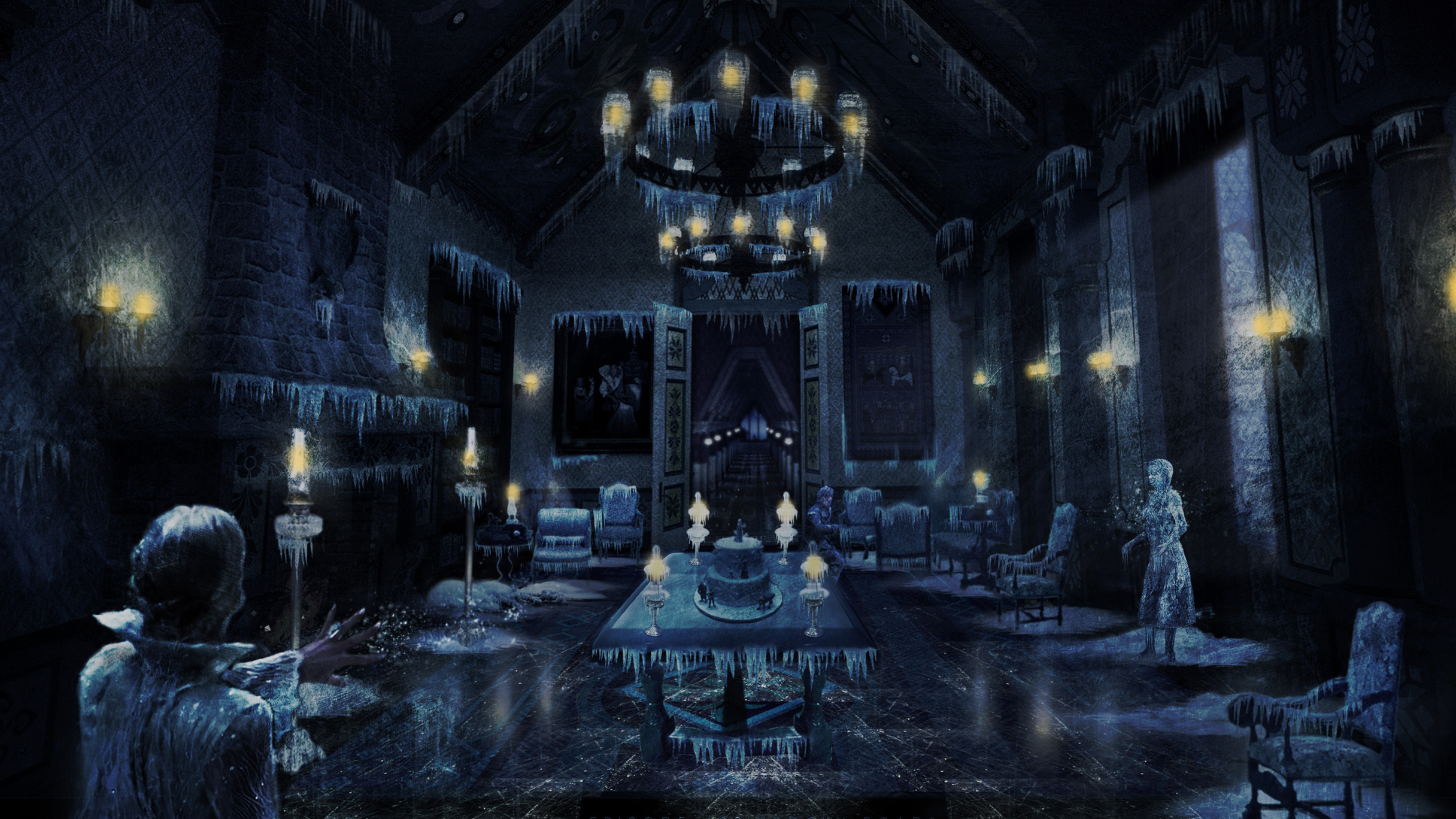 Frozen Royal Chambers - Once Upon  a Time Season 4