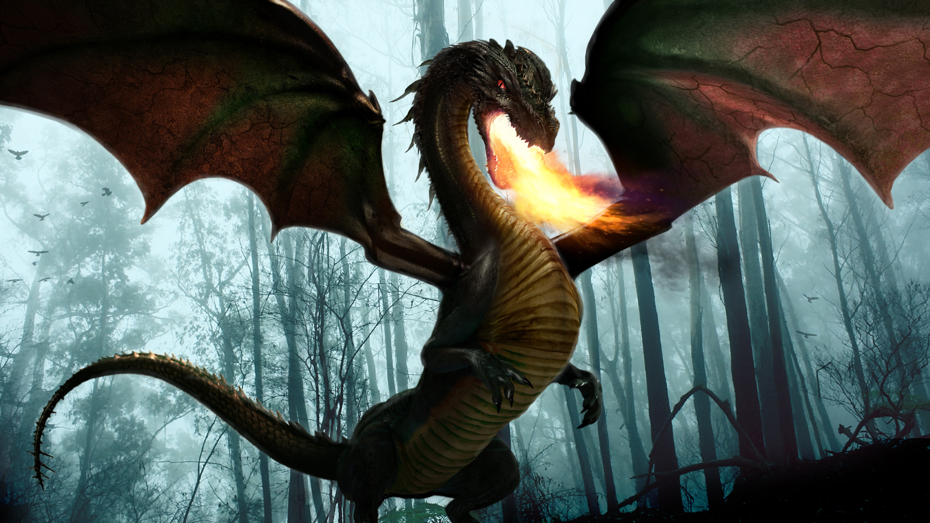 Lily the Dragon Concept - Once Upon  a Time Season 5