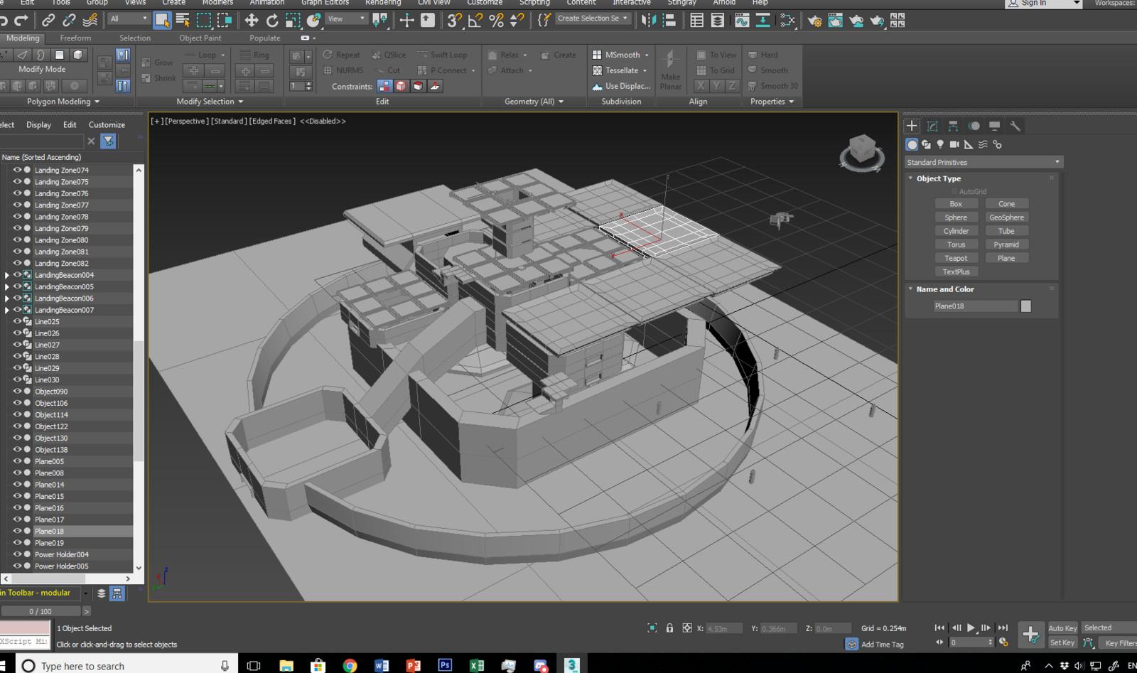 ArtStation - Space Landing zone Idea, Kevin Hache