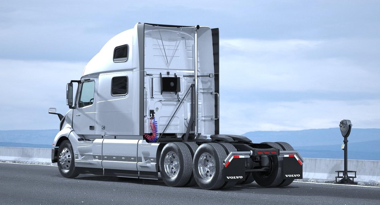 Andrey simonenko volvo vnl 860 truck 2018 rigged 3d model - Volvo vnl wallpaper ...