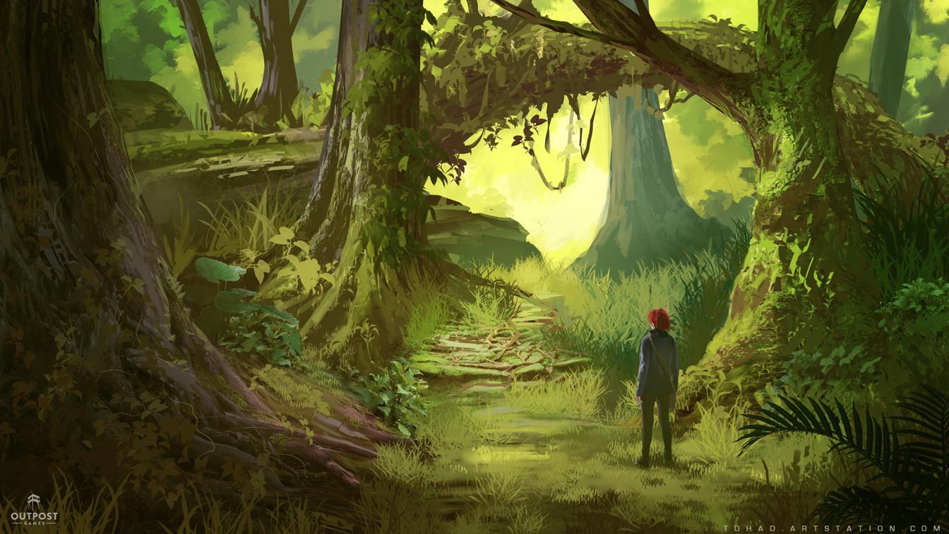 Sylvain sarrailh forest2