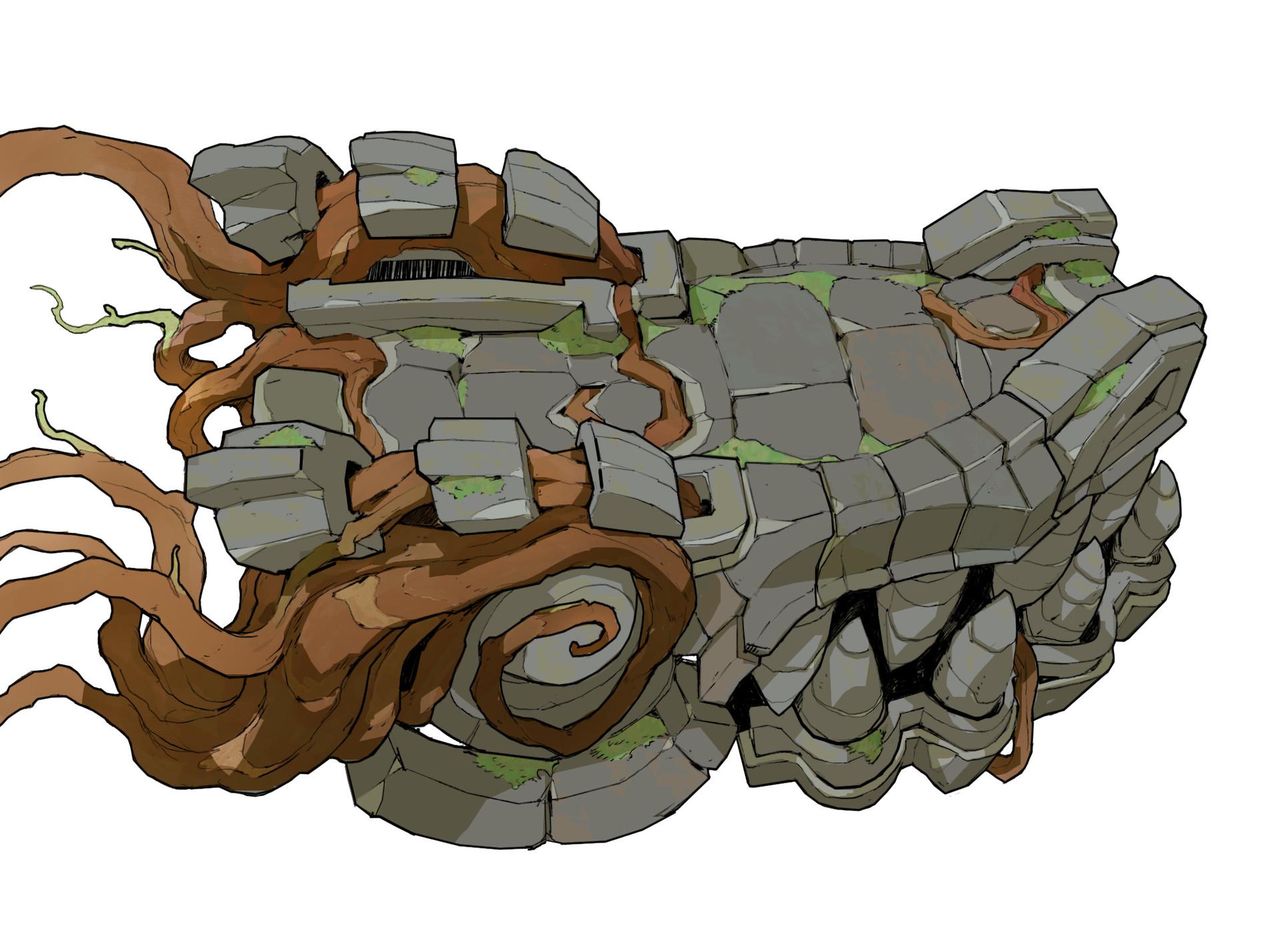 final dragon head design
