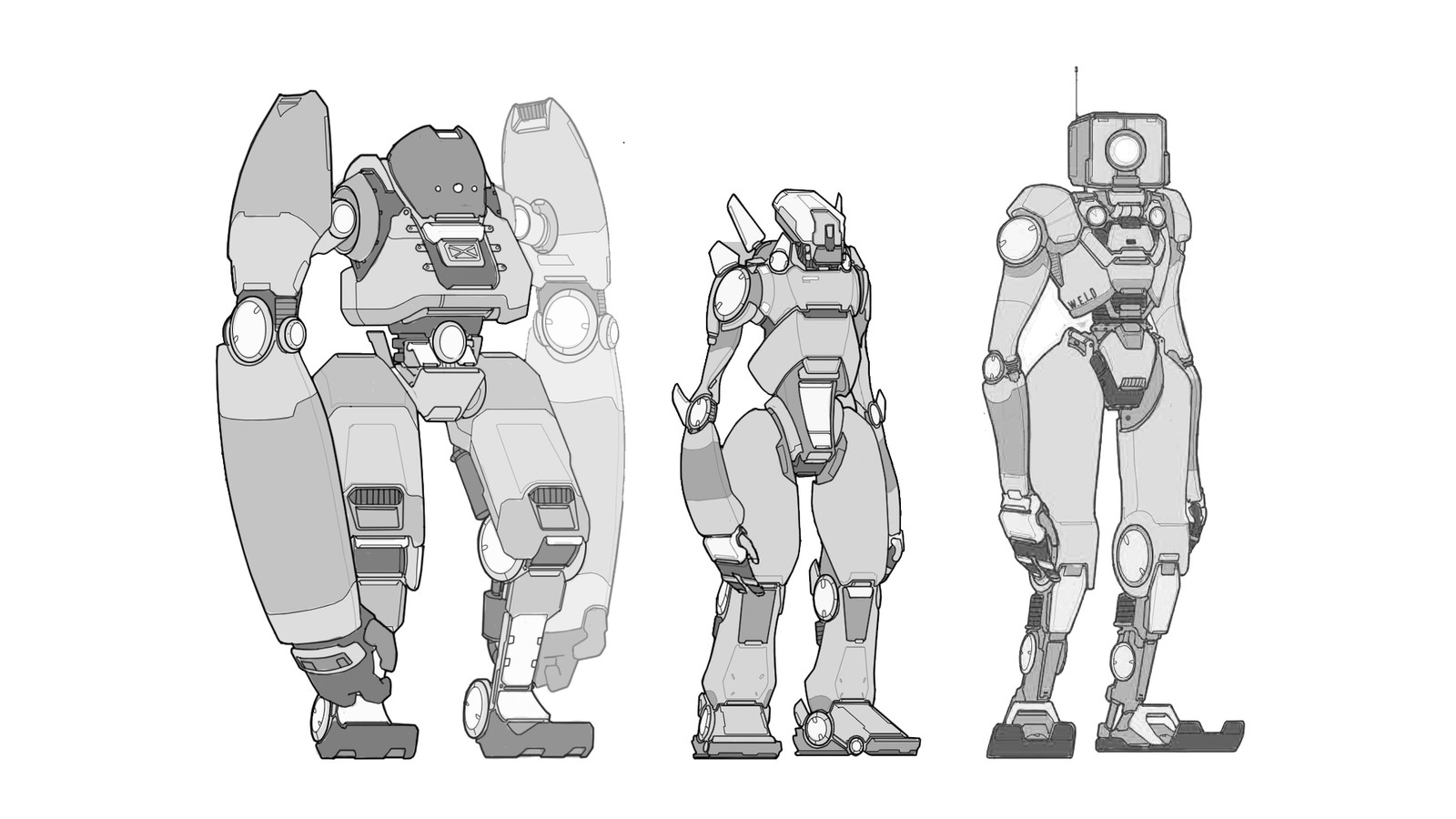 Early robot designs