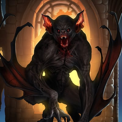 Kyle mjoen vampire bat monster