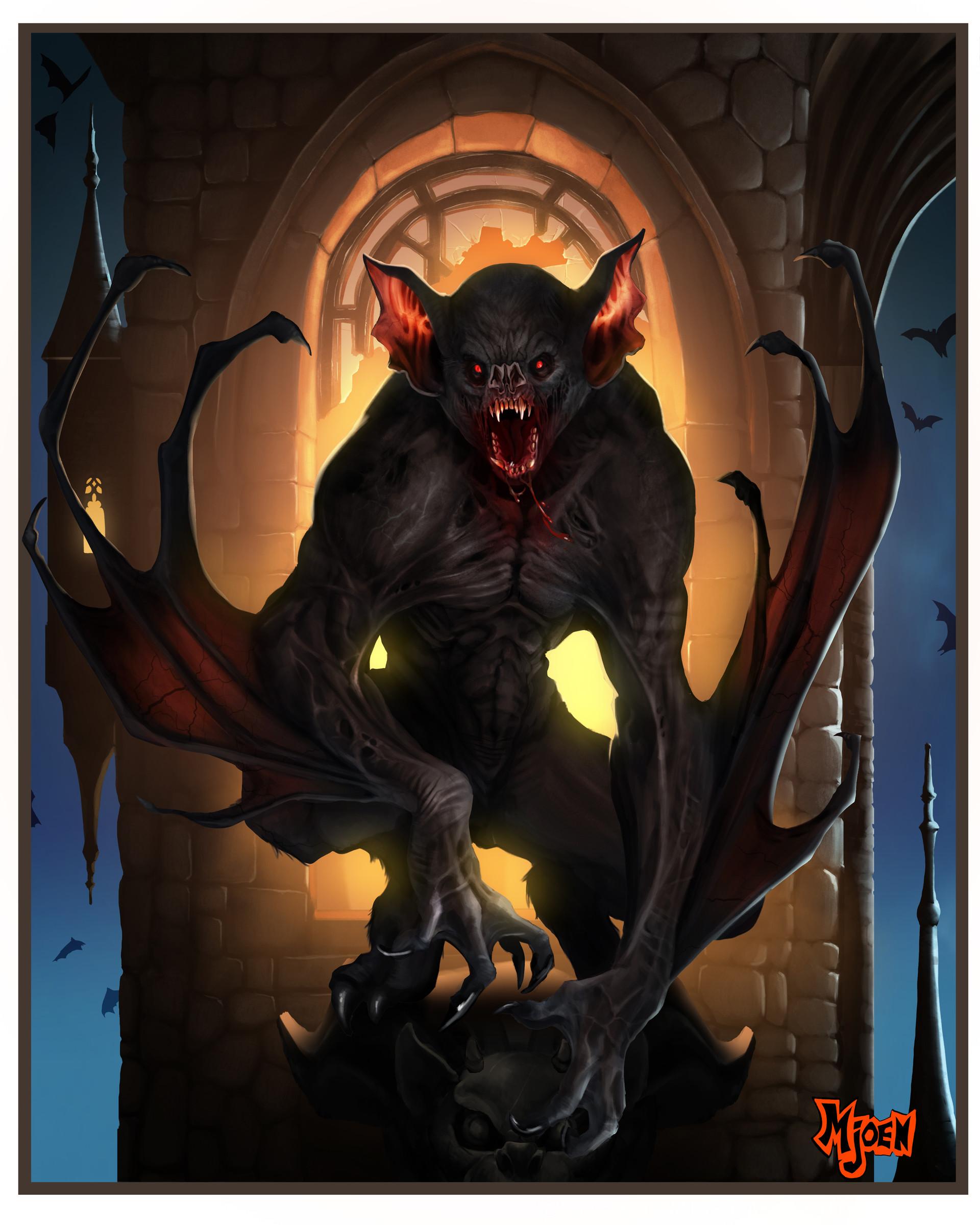 Kyle mjoen vampire bat monster