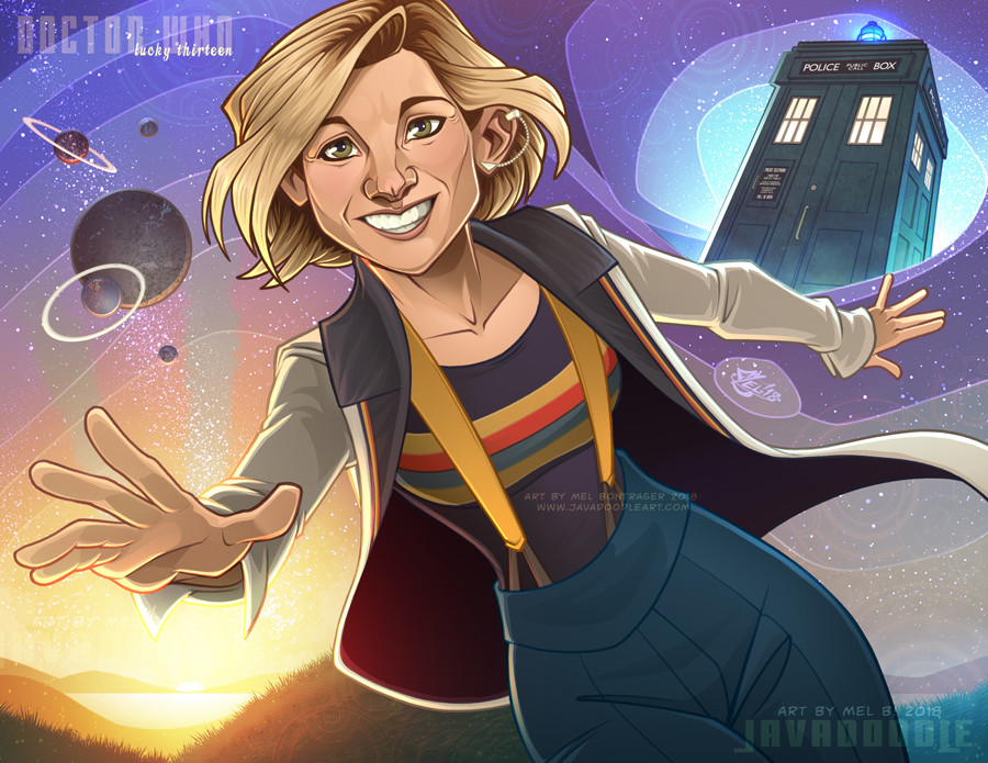 Looking forward to Jodie Whittaker's take on The Doctor!