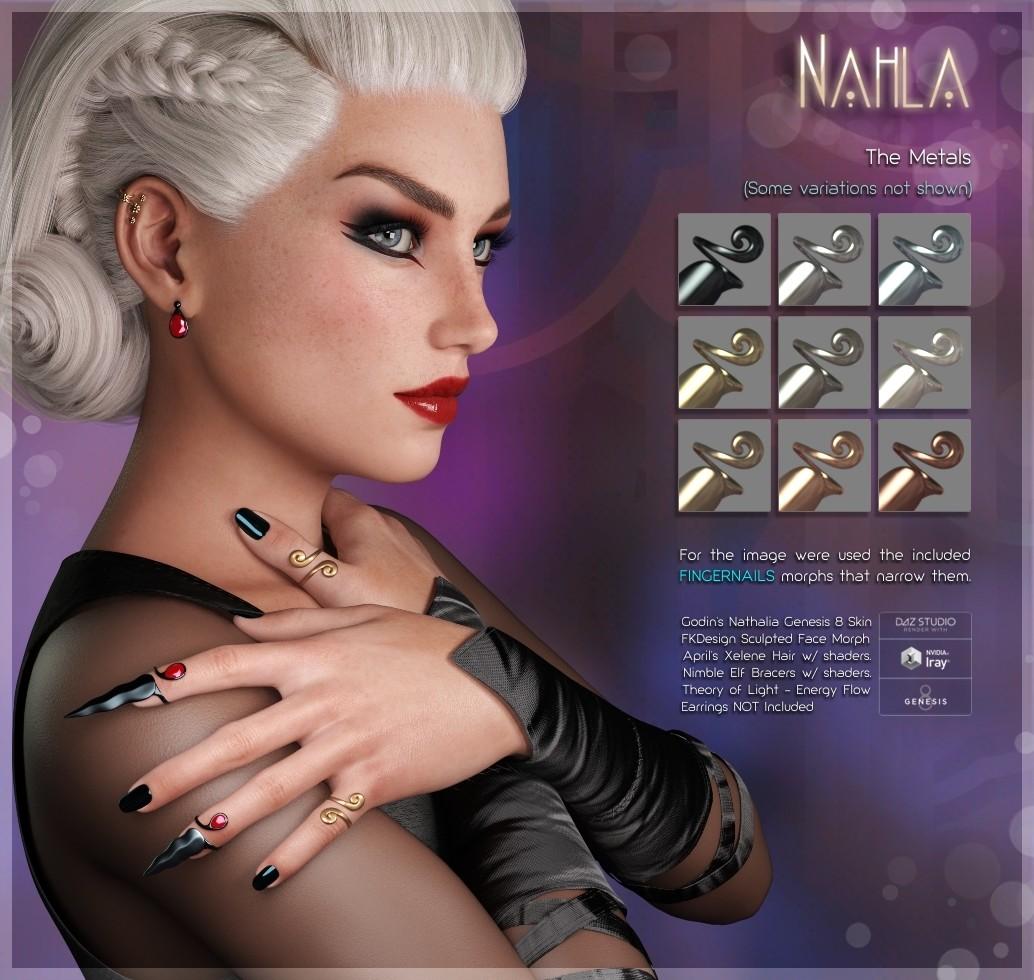 ArtStation - Nahla Rings - Project & Design, fabiana kofman