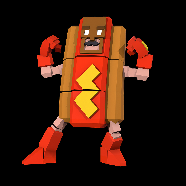 Robert fink hotdogman