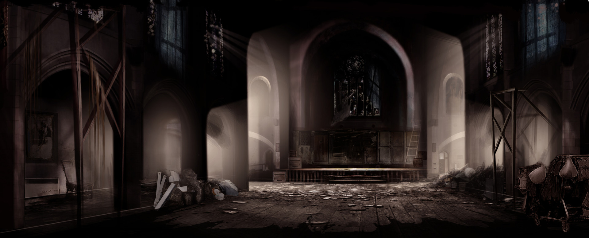 Abandoned Mutant Church for Xmen3
