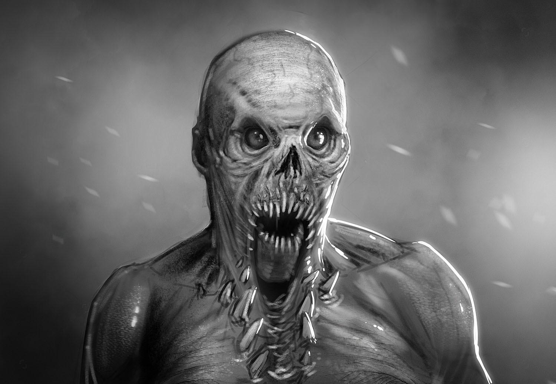 Adam milicevic doa creature sketch a