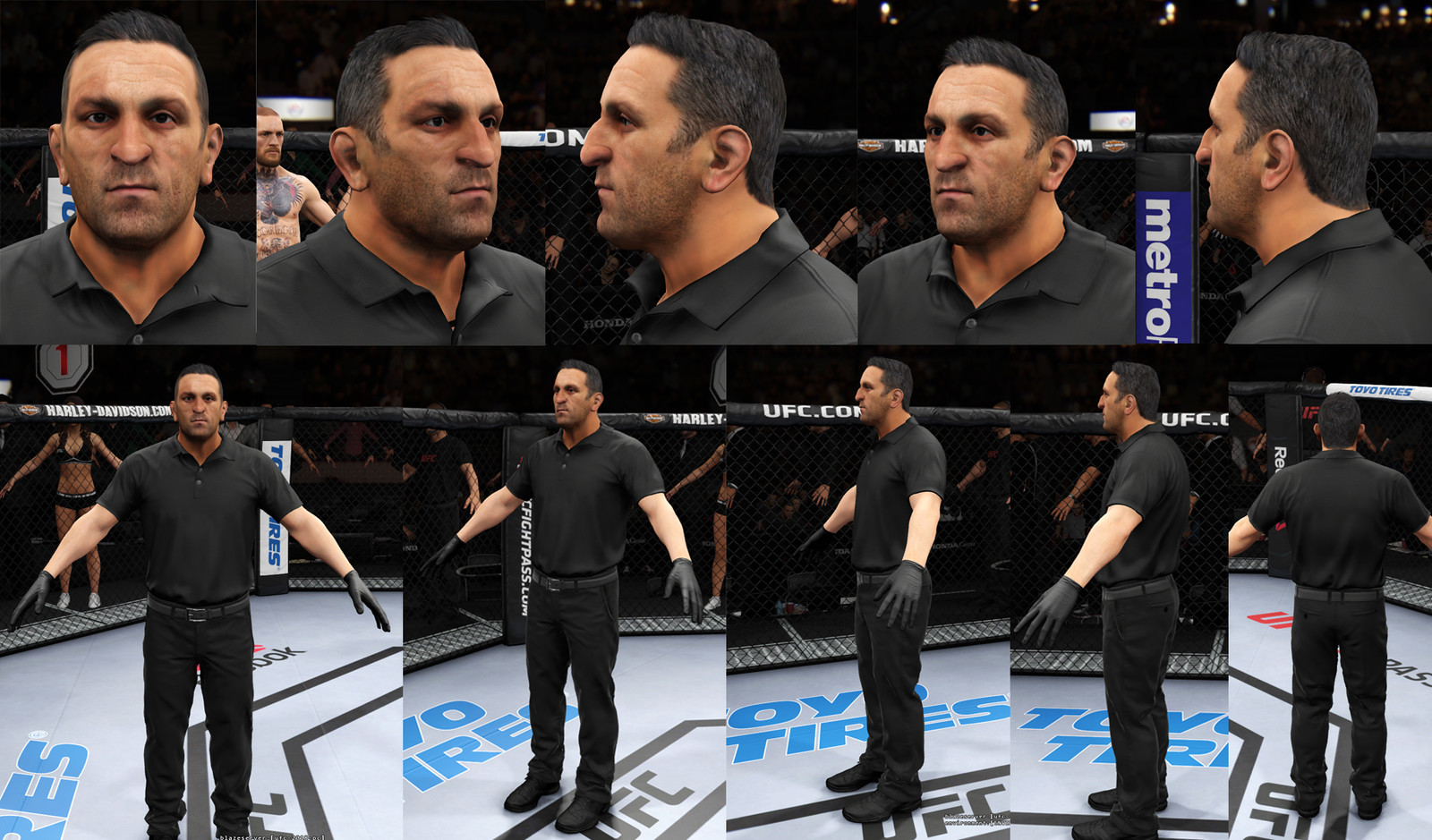 Secondary Character UFC3