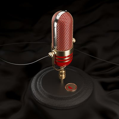Christopher michael walker old mic red and gold