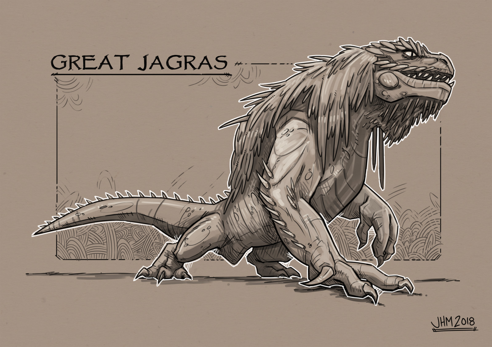 Monster Hunter - Great Jagras