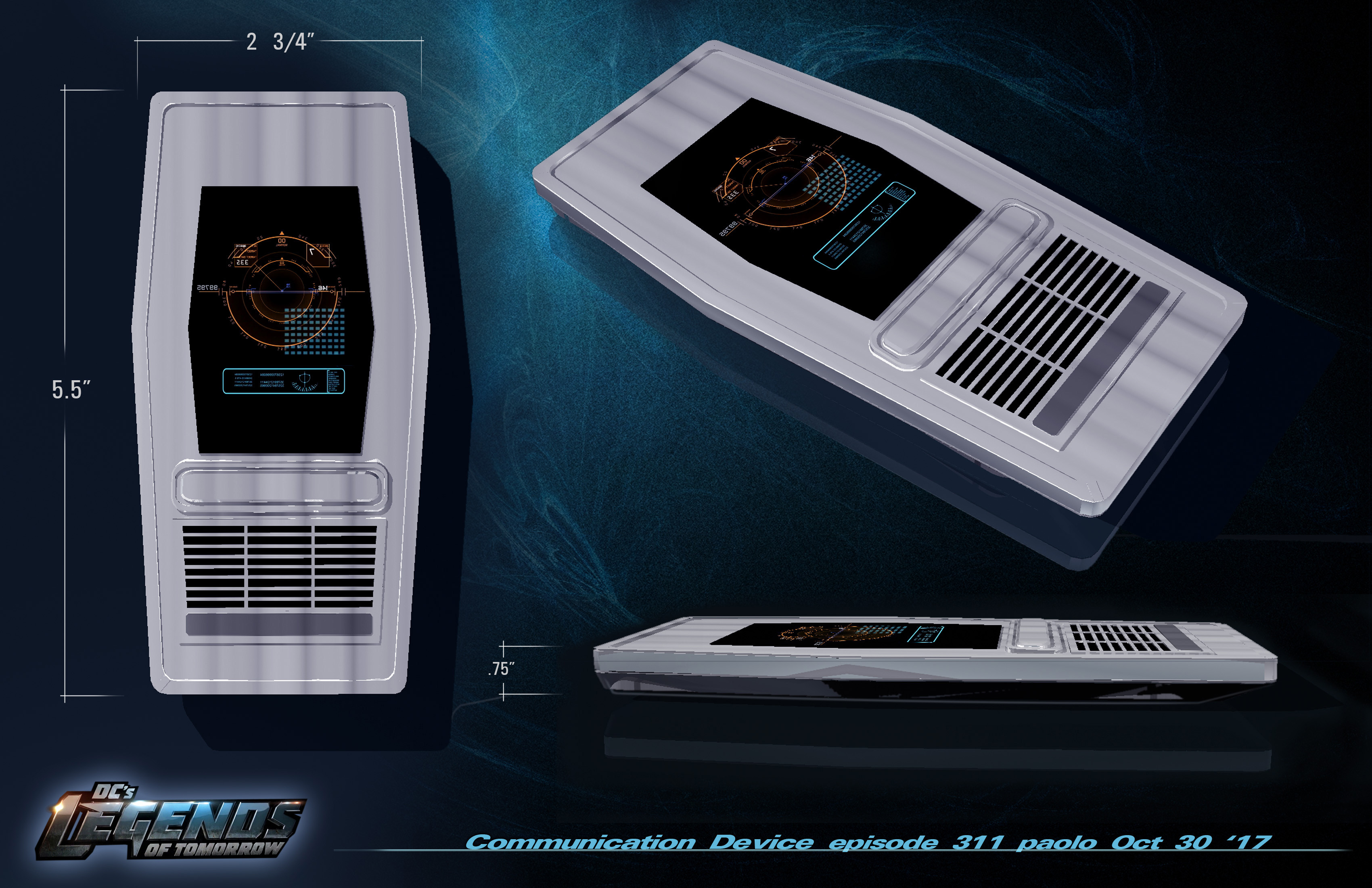 Communicator Design for Legends of DC Season 2