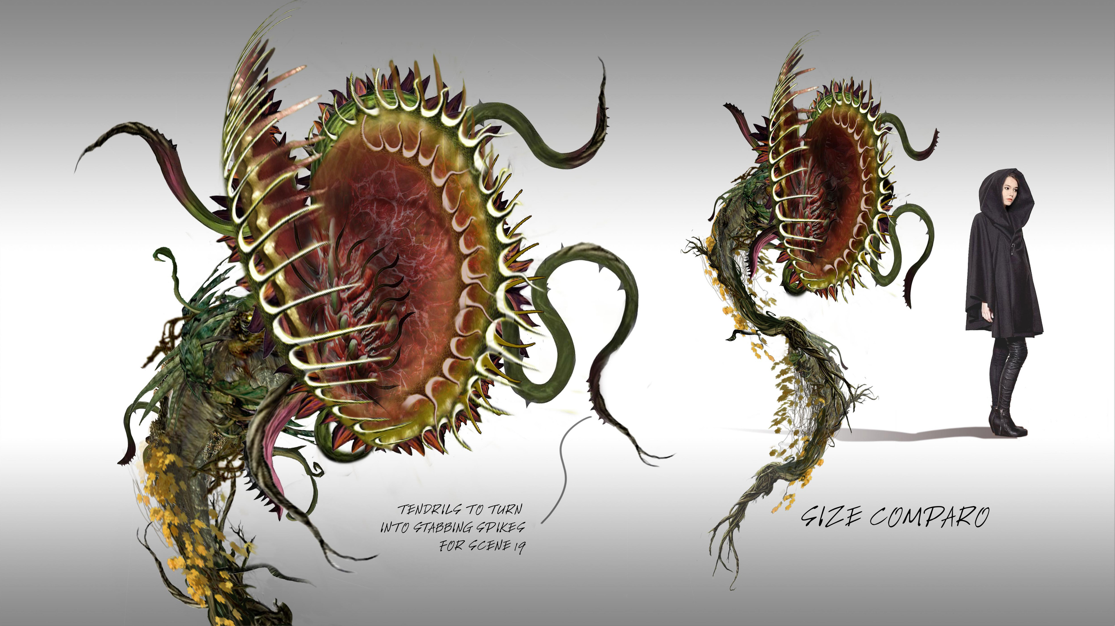 Monster Vine Creature Concept  / Once Upon  a Time Season 5