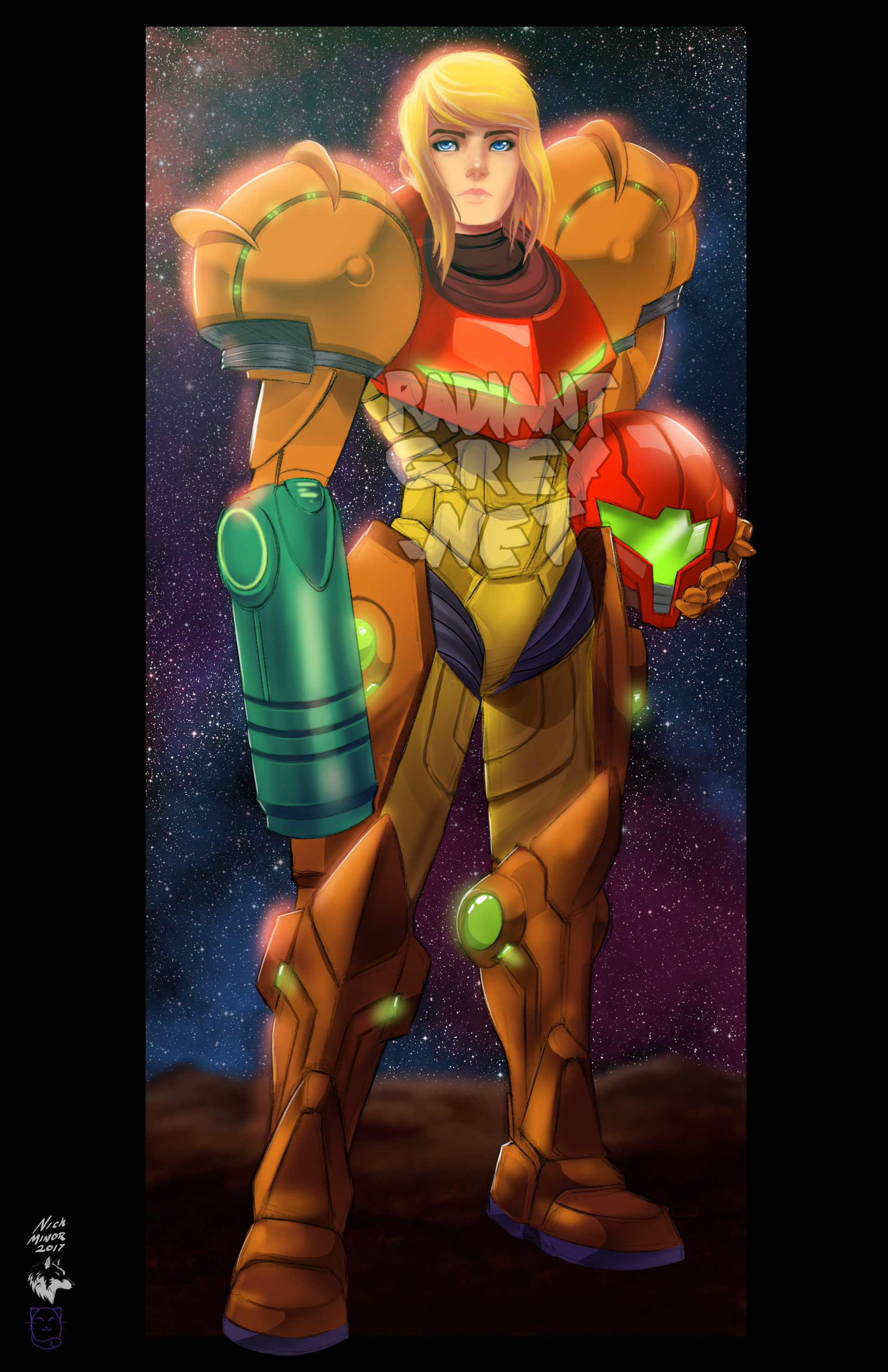 Nick minor samus aran copy