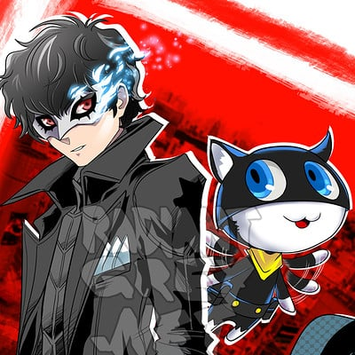 Nick minor persona joker morgana copy