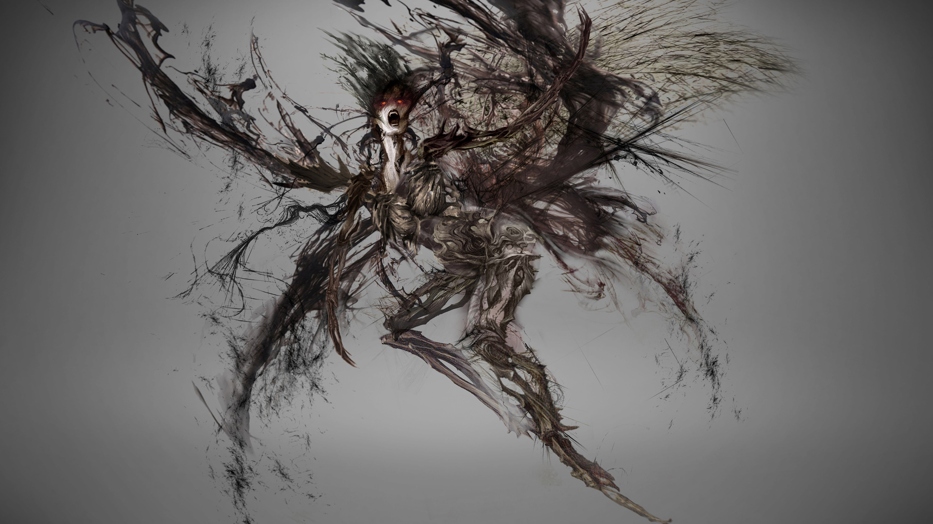 Flying Fury Creature Concept  / Once Upon  a Time Season 5