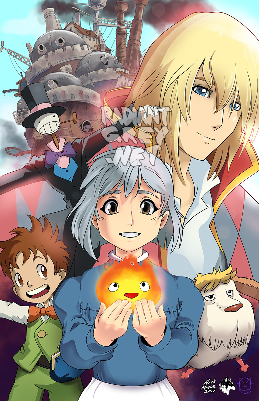 Nick minor howl s moving castle copy