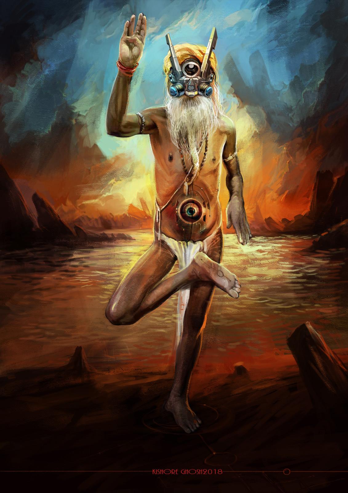 cyberpunk sadhu 2018