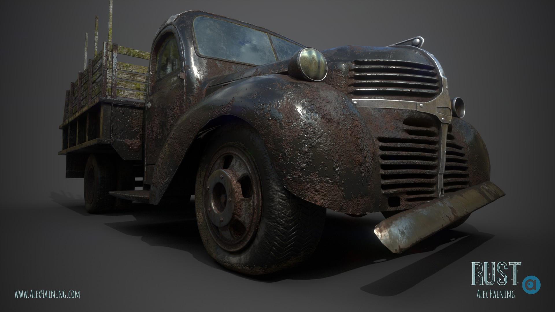 Alex haining truck render poster7