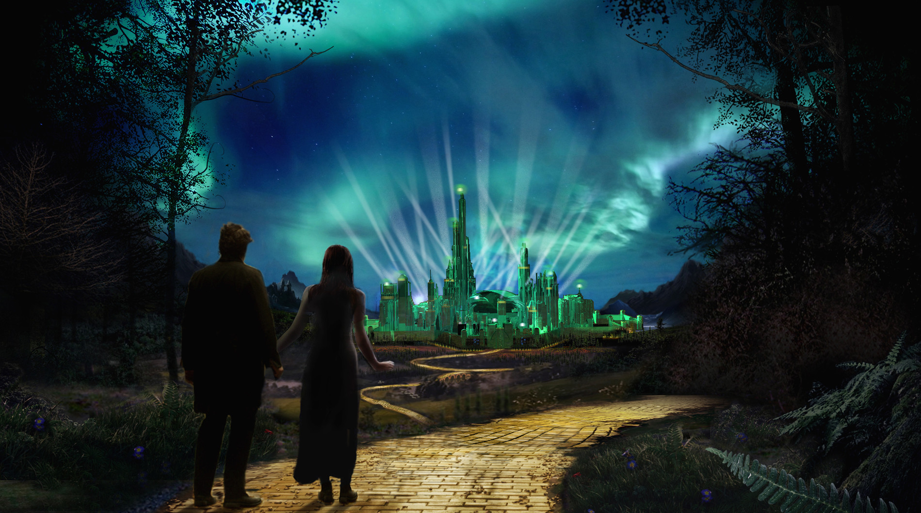 Yellow Brick Road Concept art - Upon  a Time Season 5